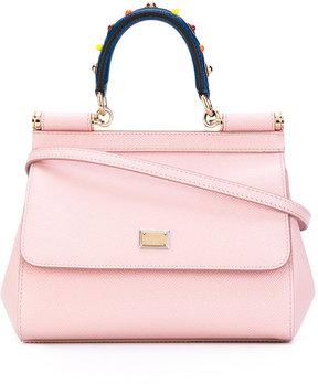 Dolce & Gabbana Sicily shoulder bag - PINK & PURPLE - STYLE