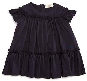 Armani Junior Girls' Ruffled Jersey Dress - Baby