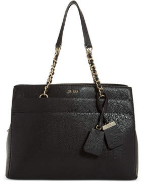 GUESS Katiana Chain Strap Girlfriend Satchel, a Macy's Exclusive Style