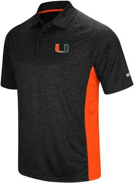 Colosseum Men's Miami Hurricanes Wedge Polo