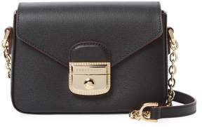Longchamp Women's Le Pliage Heritage Leather Extra Small Crossbody Bag - BLACK - STYLE