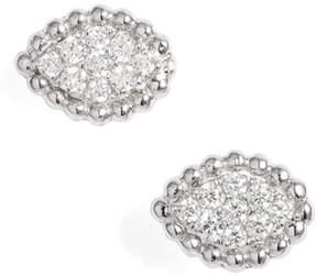 Bony Levy Mika Diamond Marquise Stud Earrings