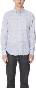 Naked & Famous Denim Regular Stripe Shirt