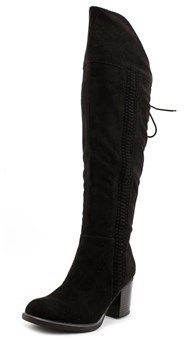 American Rag Leonna Round Toe Canvas Over The Knee Boot.