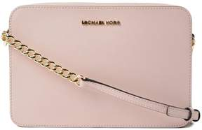 Michael Kors Large Jet Set Travel Crossbody Bag - PINK & PURPLE - STYLE
