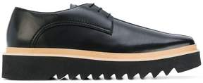 Stella McCartney platform derby shoes