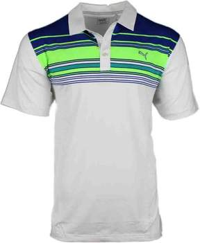 Puma Key Stripe Golf Polo Shirt