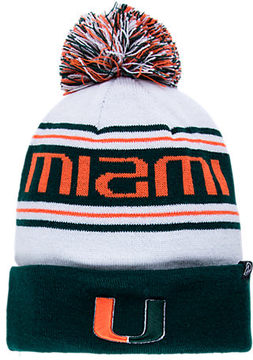 Zephyr Miami Hurricanes College Arctic Knit Hat
