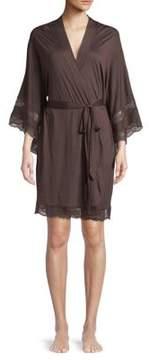 Eberjey Self-Tie Kimono Robe