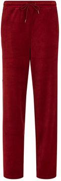 Fila Bonnie Wide Leg Velour Sweatpants