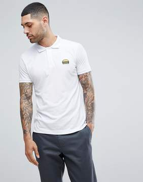 Brave Soul Embroidered Burger Polo