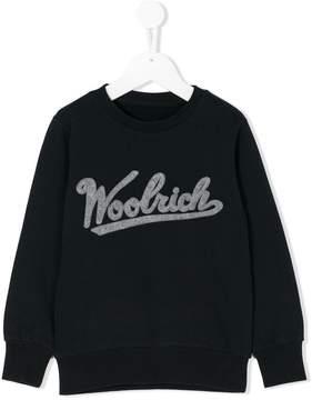Woolrich Kids logo sweatshirt