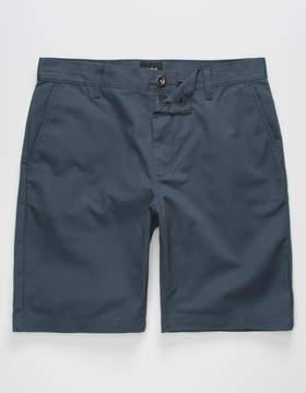 RVCA Week-end Midnight Mens Slim Shorts