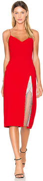 CHRISTOPHER ESBER Ribeiro Crystal Slit Dress