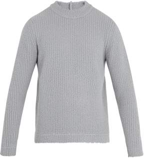 Craig Green Crew-neck ribbed wool-blend knit sweater