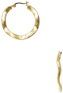 Rivka Friedman Women's 18K Gold Hoop Earrings