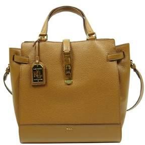 Lauren Ralph Lauren Lauren By Ralph Lauren Women's Handbag Darwin Leather Tote (Bridle Brown)