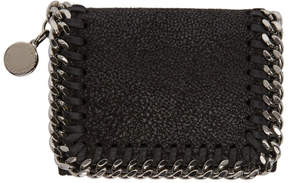 Stella McCartney Black Falabella Trifold Wallet