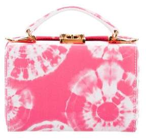 Mark Cross Tie-Dye Grace Mini Box Bag