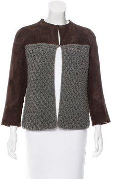 Agnona Shearling & Cashmere Jacket