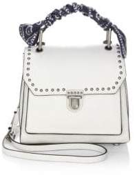 Rebecca Minkoff St. Tropez Small Leather Satchel - TRUE NAVY - STYLE