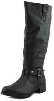 Rampage Iliya Wide Calf W Round Toe Synthetic Knee High Boot.