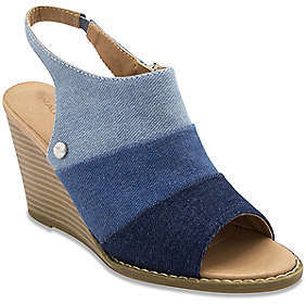 Nautica Tahoe Denim Wedge