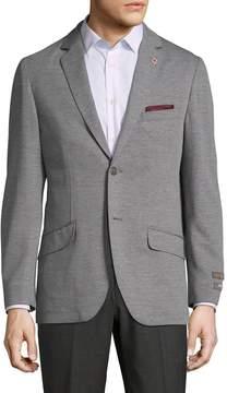 Ben Sherman Men's Non-Solid Notch Lapel Sportcoat