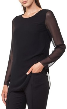 Akris Punto Women's Sheer Layer Top