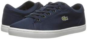 Lacoste Straightset BL 2 Canvas Women's Shoes