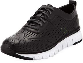 Cole Haan Men's ZeroGrand Perforated Sneakers, Black