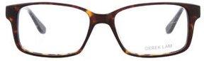 Derek Lam Square Tortoiseshell Eyeglasses