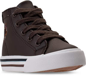 Polo Ralph Lauren Toddler Boys' Slater Mid Casual Sneakers from Finish Line