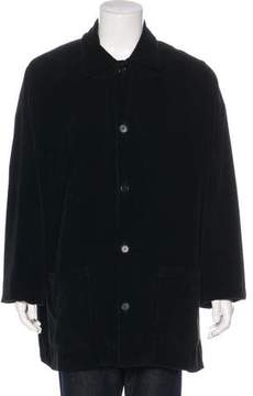 eskandar Wool Corduroy Coat