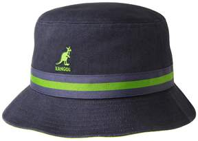 Kangol Men's Lahinch Striped Bucket Hat