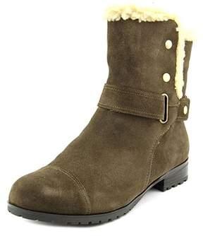 Giani Bernini Womens Lotii Faux Fur Closed Toe Ankle Cold Weather Boots.