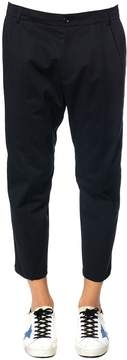Blend of America Low Brand Wool-cotton Cropped Lenght Trousers