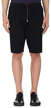 Helmut Lang Men's Drop-Rise Jersey Basketball Shorts