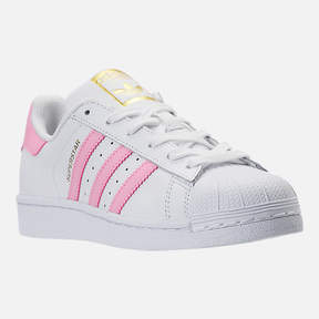 adidas Girls' Grade School Superstar Casual Shoes