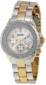 August Steiner Two-tone Ladies Watch