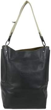 Ghurka Black Leather Handbag