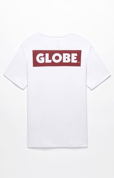 Globe Sticker T-Shirt