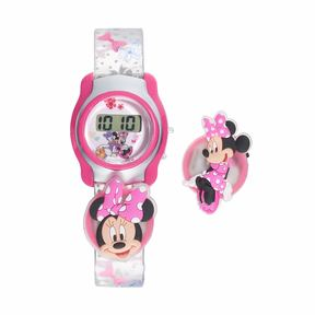 Disney Disney's Minnie Mouse Kids' Digital Charm Watch