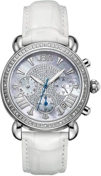 JBW Ladies Victory 0.16 ctw Diamond Stainless Steel Watch