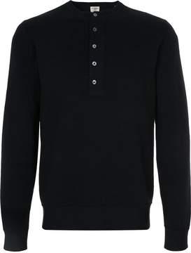 Kent & Curwen long sleeved button up sweatshirt