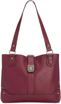 Style & Co Twistlock Tote, Created for Macy's