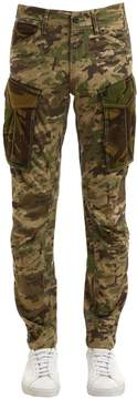 G Star Rovic Mix 3d Tapered Camo Cotton Pants
