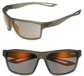 Men's Nike Legend 65Mm Mirrored Multi-Sport Sunglasses - Matte Cargo Khaki