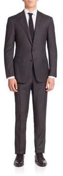 Ralph Lauren Purple Label Striped Wool Suit