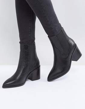 Asos ROWEN Leather Chelsea Boots